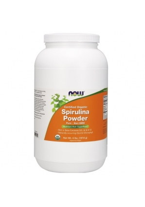 Spirulina Powder 1814 гр 4lb (NOW)