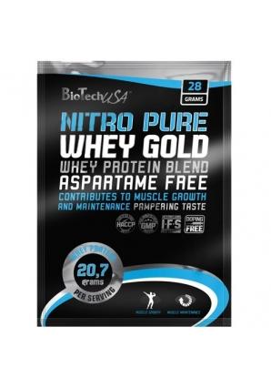Nitro Pure Whey 28 гр (BioTech USA)
