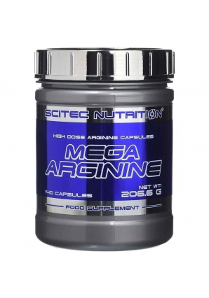 Mega Arginine 140 капс (Scitec Nutrition)