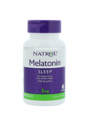 Melatonin 3 мг 60 табл (Natrol)