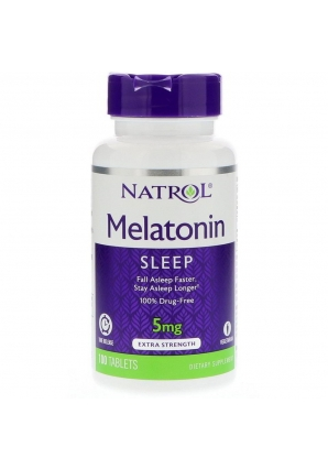 Melatonin 5 мг 100 табл (Natrol)