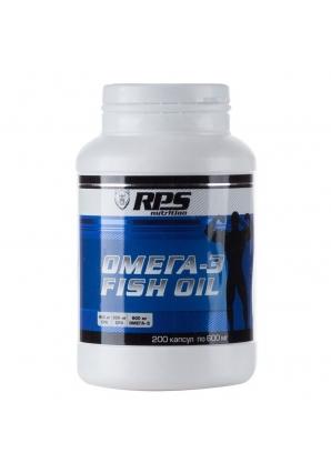 Омега-3 Fish Oil 200 капс (RPS Nutrition)