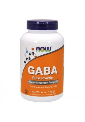 GABA Pure Powder 170 гр (NOW)