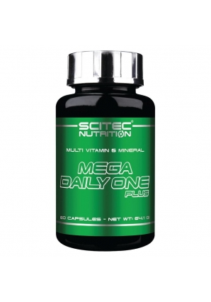 Mega Daily One Plus 60 капс (Scitec Nutrition)