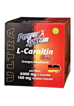 L-Carnitin Fire 6000 мг 12 бут (Power System)