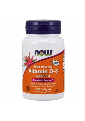 Vitamin D3 2000 UI 240 капс (NOW)