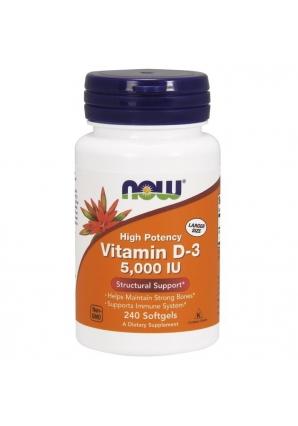 Vitamin D3 5000 UI 240 капс (NOW)