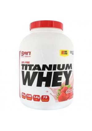 100% Pure Titanium Whey 2270 гр - 5 lb (SAN)