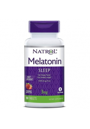 Melatonin 3 мг 90 табл (Natrol)