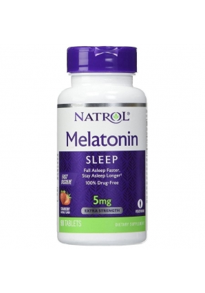 Melatonin 5 мг 90 табл (Natrol)