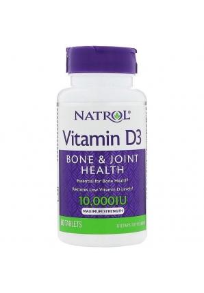 Vitamin D3 10000 UI 60 табл (Natrol)