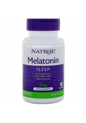 Melatonin 5 мг 60 табл (Natrol)
