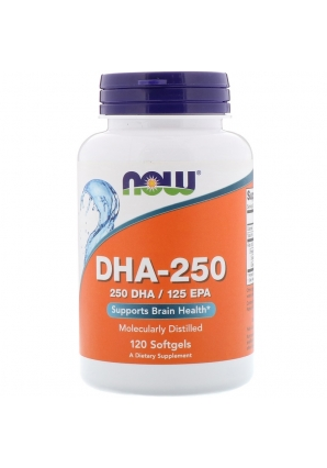 DHA 250/EPA 125 120 капс (NOW)