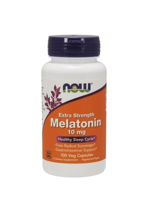 Melatonin Extra Strength 10 мг 100 капс (NOW)