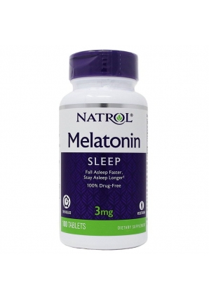 Melatonin 3 мг 100 табл (Natrol)