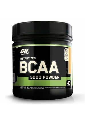 BCAA 5000 Powder (380 гр.) (Optimum nutrition)