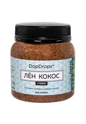 Паста Лён Кокос, стевия 250 гр (DopDrops)