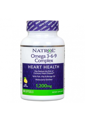 Omega-3 Fish Oil 1000 мг 150 капс (Natrol)