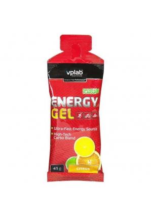 Energy Gel 1 штука 41 гр (VPLab Nutrition)