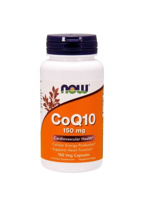 CoQ10 150 мг 100 капс (NOW)