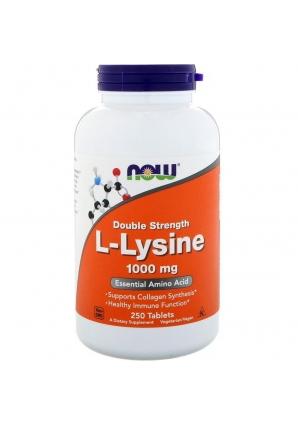 L-Lysine 1000 мг 250 табл (NOW)