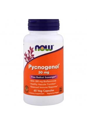 Pycnogenol 30 мг 60 капс (NOW)