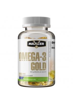 Omega-3 Gold EU 120 капс (Maxler)