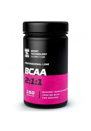 BCAA 2:1:1 150 капс (Спортивные Технологии)