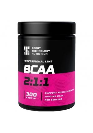 BCAA 2:1:1 300 капс (Спортивные Технологии)