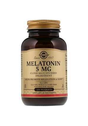 Melatonin 5 мг 120 табл (Solgar)