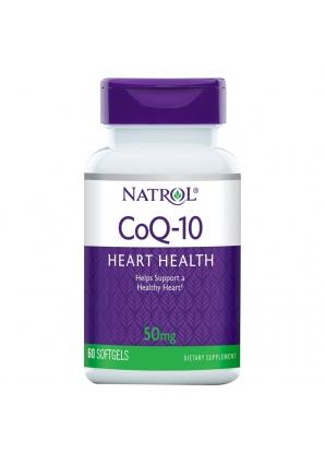 CoQ10 50 мг 60 капс (Natrol)
