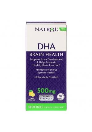 DHA 500 мг Super Strength 30 капс (Natrol)