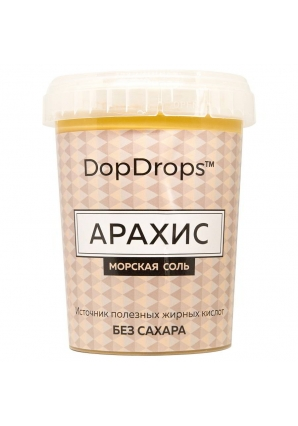 Паста Арахис, морская соль 1000 гр (DopDrops)