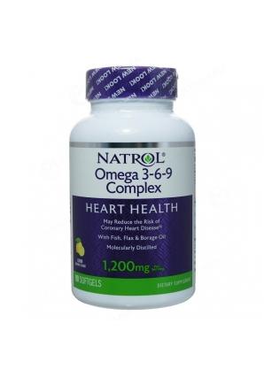 Omega 3-6-9 90 капс. (Natrol)