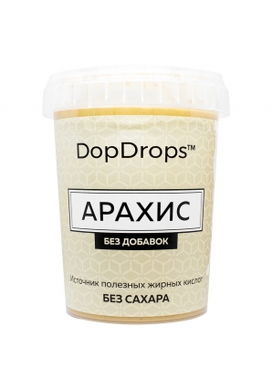 Протеиновая паста Арахис, без добавок 1000 гр (DopDrops)