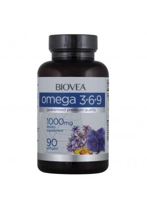 Omega 3-6-9 1000 мг 90 капс (BIOVEA)
