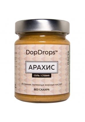 Паста Арахис, соль, стевия 265 гр (DopDrops)