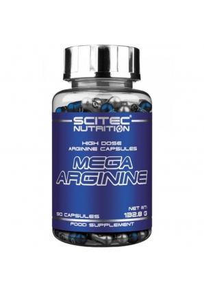 Mega Arginine 90 капс (Scitec Nutrition)