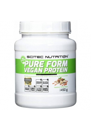 Pure Form Vegan Protein 450 гр (Scitec Nutrition)