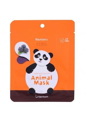 Маска тканевая экстрактом ежевики Animal mask series - Panda 25 мл (Berrisom)
