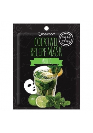 Маска для лица Cocktail Recipe Mask - Mojito 20 мл (Berrisom)