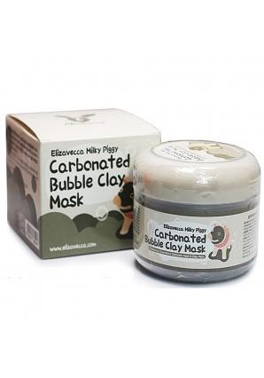 Маска для лица глиняно-пузырьковая Carbonated Bubble Clay Mask 100 мл (Elizavecca)
