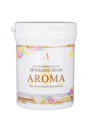 Маска альгинатная антивозрастная питательная Aroma Modeling Mask 240 гр - банка (Anskin)