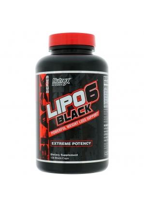 Lipo-6 Black 120 капс (Nutrex) NEW!