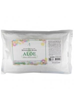 Маска альгинатная с алоэ успокаивающая Aloe Modeling Mask 240 гр (Anskin)