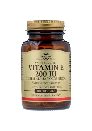 Витамин Е 200 МЕ 100 желат. капс. (Solgar)