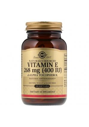 Витамин Е 400 МЕ 100 желат. капс. (Solgar)