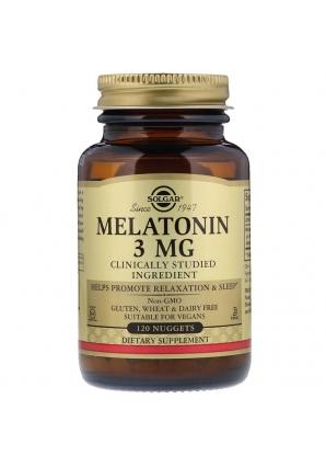 Мелатонин 3 мг 120 табл. (Solgar)