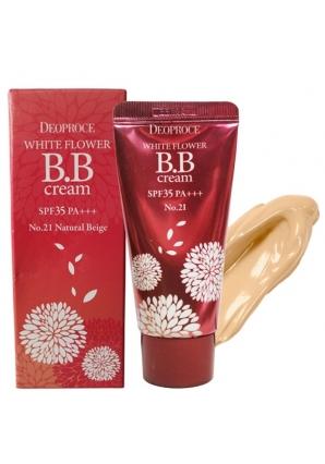 BB крем White Flower BB Cream SPF35 PA+++ 30 гр (Deoproce)