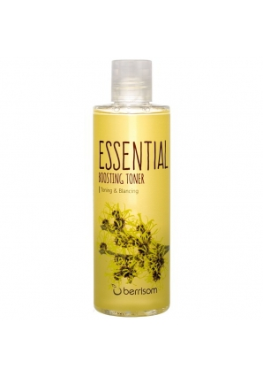 Тонер для лица Essential Boosting Toner - Witch Hazel 265 мл (Berrisom)